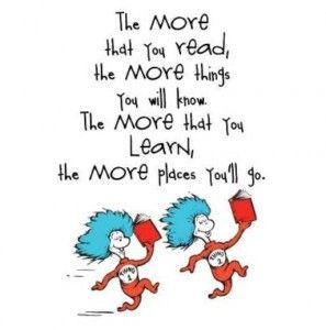 dr suess reading
